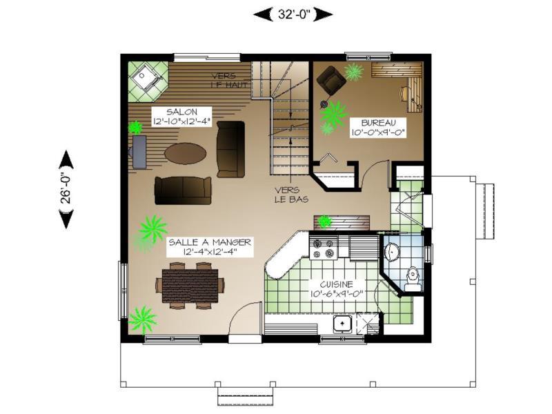 Plan tage 00087 for Mes plans de maison