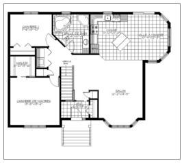 Plan plain pied 00102 for Modifier plan maison